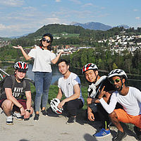 Take a break - Bike tour B.H.M.S. Students