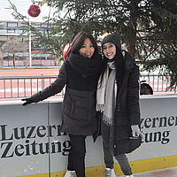 B.H.M.S. Students went Ice skating
