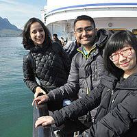 B.H.M.S. Business & Hotelmanagement School - Boat trip
