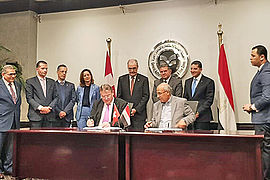 Business & Hotel Management School B.H.M.S and Badr University in Cairo sign partnership