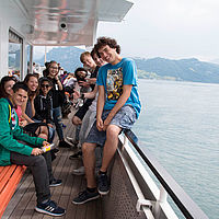 Fun on a Boat trip - B.H.M.S. Business and Hotelmanagement School