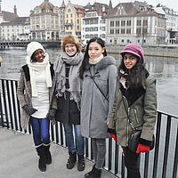 Student Activities - Lucerne City tour