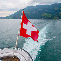 Boat trip on Lake Lucerne Switzerland - B.H.M.S.