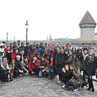 Business and Hotelmanagement School - Lucerne City tour